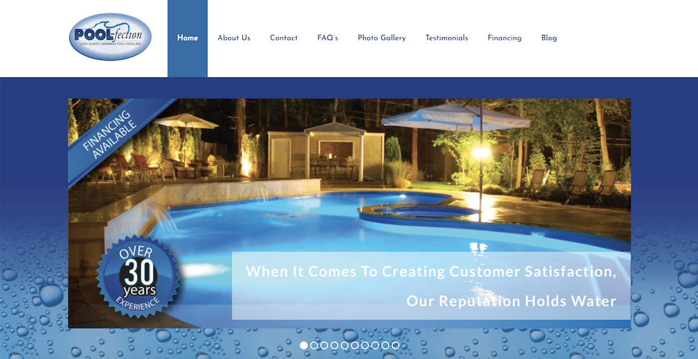 POOL-fection Launches A New Website